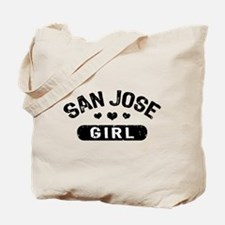 San Jose Girl Tote Bag