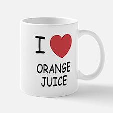 I heart orange juice Mug