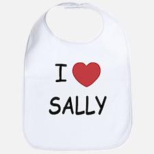 I heart sally Bib