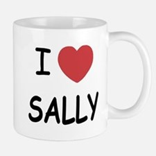I heart sally Mug