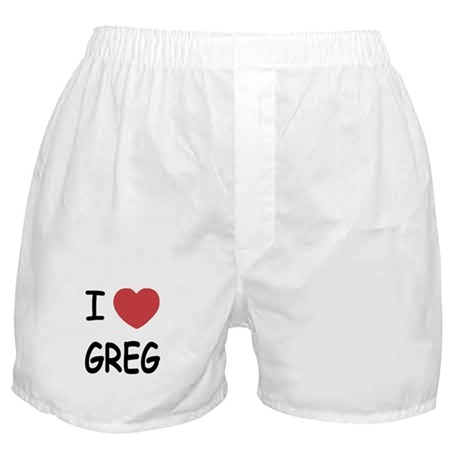 I heart greg Boxer Shorts