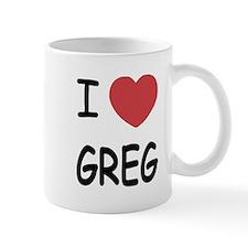 I heart greg Mug