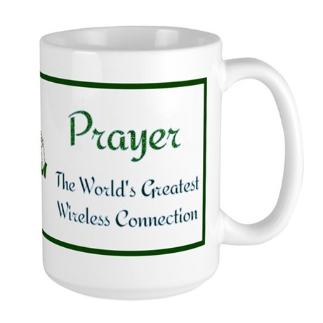 Prayer - World's Greatest Wir Large Mug