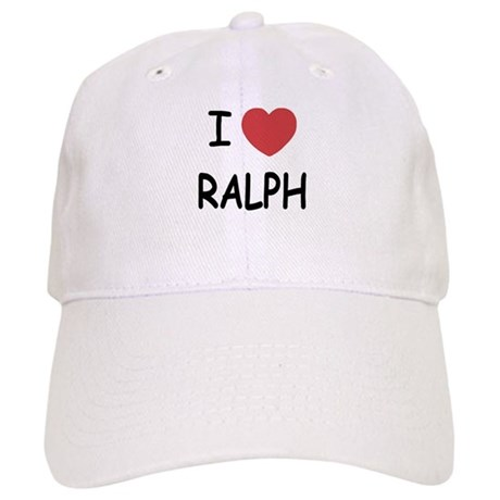 I heart ralph Cap
