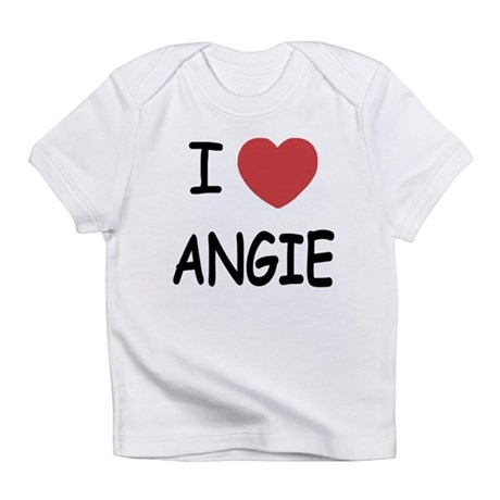 I heart angie Infant T-Shirt