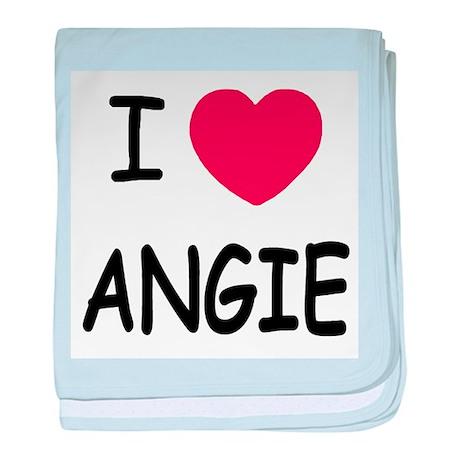 I heart angie baby blanket