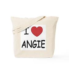 I heart angie Tote Bag