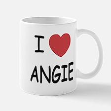 I heart angie Mug