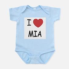 I heart mia Infant Bodysuit