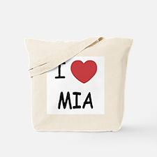 I heart mia Tote Bag