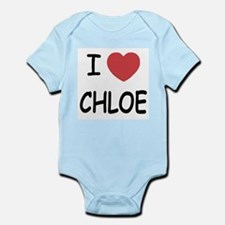 I heart chloe Infant Bodysuit