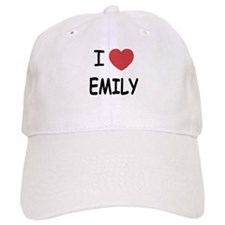 I heart emily Baseball Cap