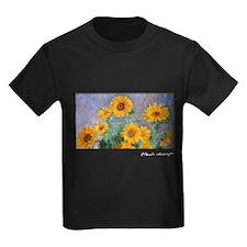 Bouquet of Sunflowers, Monet, T