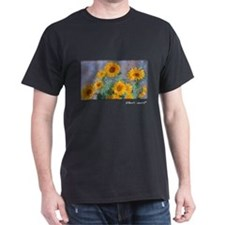 Bouquet of Sunflowers, Monet, T-Shirt