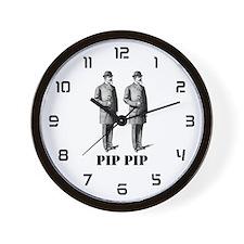 Pip Pip Wall Clock
