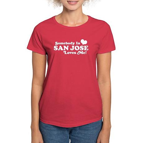 San Jose Women's Dark T-Shirt