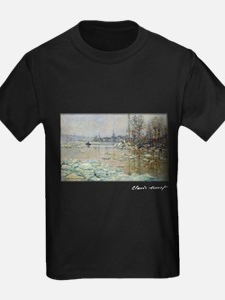Monet, Breakup of Ice, 1880, T