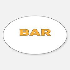 Bar Decal