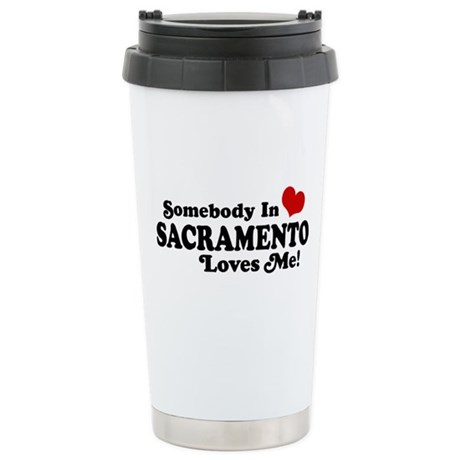 Sacramento Stainless Steel Travel Mug