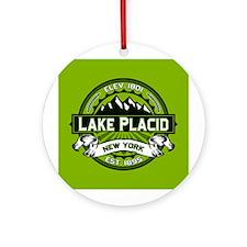 Lake Placid Green Logo Ornament (Round)