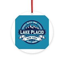 Lake Placid Ice Logo Ornament (Round)