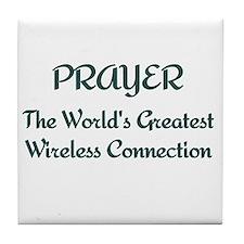 Prayer - World's Greatest Wir Tile Coaster