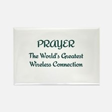 Prayer - World's Greatest Wir Rectangle Magnet