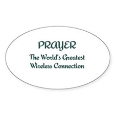 Prayer - World's Greatest Wir Decal