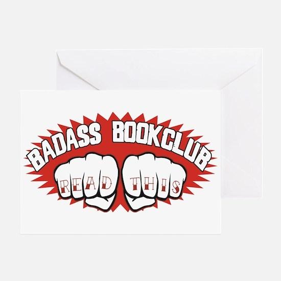 Badass Book Club Greeting Card