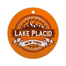 Lake Placid Tangerine Logo Ornament (Round)
