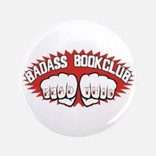 "Badass Book Club 3.5"" Button"