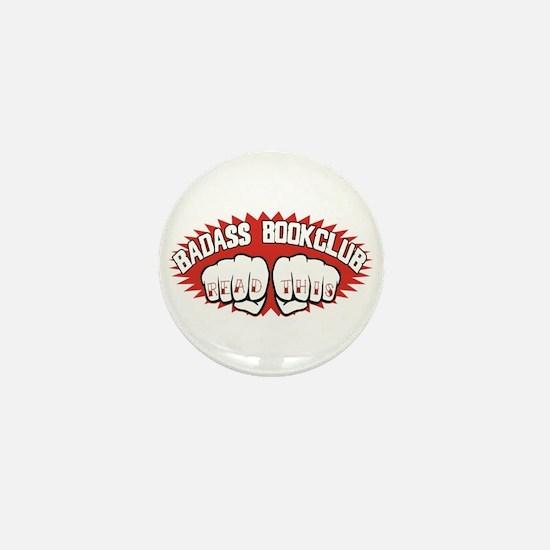 Badass Book Club Mini Button
