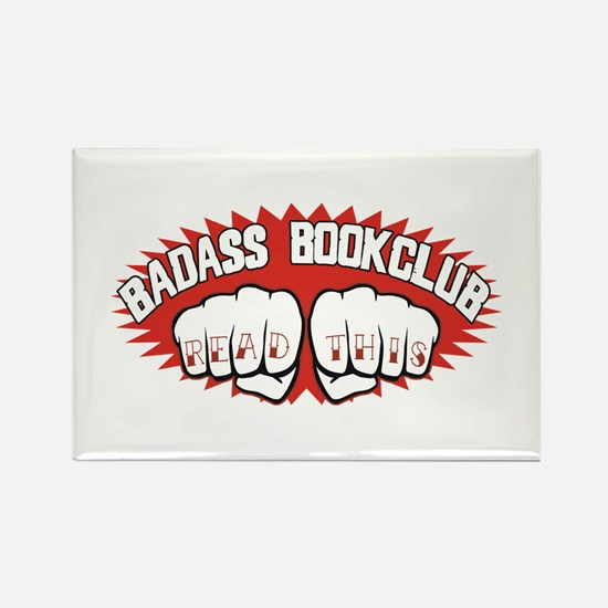 Badass Book Club Rectangle Magnet