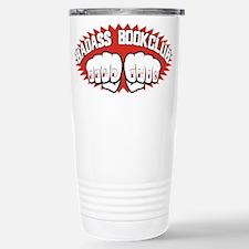 Badass Book Club Stainless Steel Travel Mug
