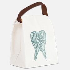 Funny Dental Canvas Lunch Bag