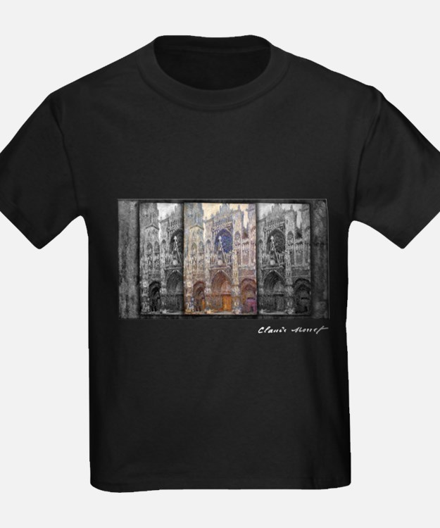 Rouen Cathedral, Grey Weather, Monet, T