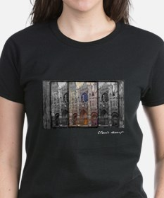 Rouen Cathedral, Grey Weather, Monet, Tee