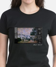 Saint-Lazare Station, Goods Sheds, Monet, Tee