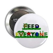 """Feed Everyone 2.25"""" Button"""