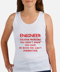 funny geek joke Women's Tank Top