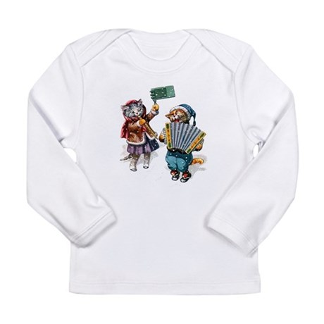Cats Play Music in the Long Sleeve Infant T-Shirt