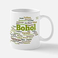 Bohol Geographic Word Cloud Mug