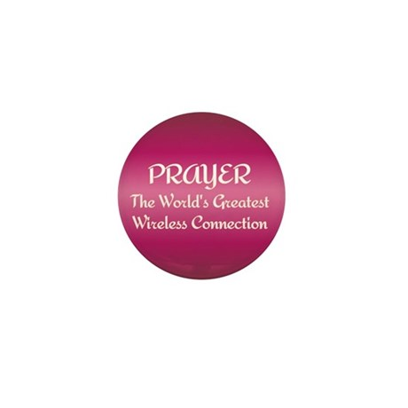 Prayer - World's Greatest Wir Mini Button (10 pack