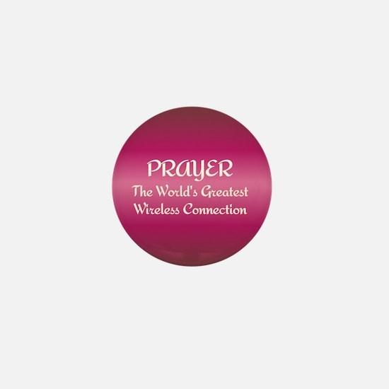 Prayer - World's Greatest Wir Mini Button