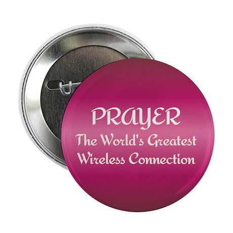 """Prayer - World's Greatest Wir 2.25"""" Button (10 pac"""