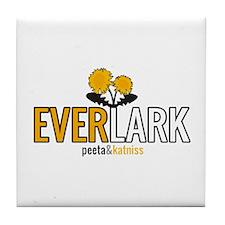 Everlark - Peeta and Katniss Tile Coaster