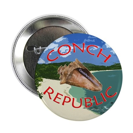 Conch Republic (Party Band) Button