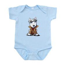 Amelia Dearheart Westie Infant Bodysuit