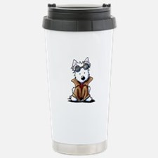 Steampunk Westie Travel Mug
