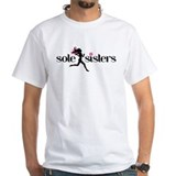 Sole sisters Mens White T-shirts